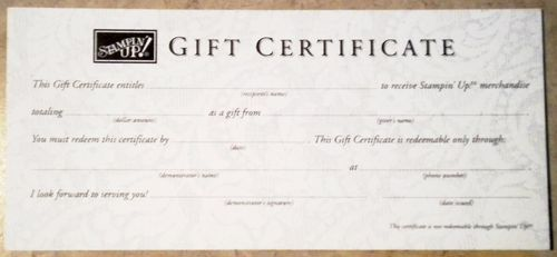 Sugiftcertificate