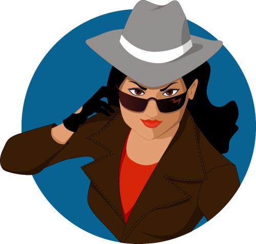 Secret agent portr